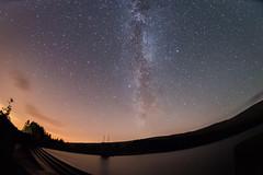 Milky Way (dpt78) Tags: park lake wales night way lens stars photography nikon astro reservoir fisheye national astrophotography brecon beacons universe milky powys slowexposure d610
