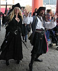 Pirate People (ColGould) Tags: liverpool pirates albertdock