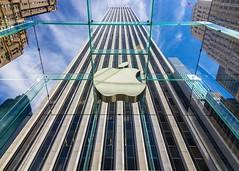 Apple Store (Never House) Tags: nyc trip travel viaje usa newyork apple canon store tokina midtown ago aug avenue turismo fifth    550d  1116mm