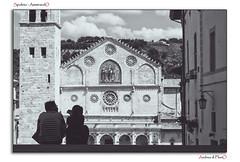 Spoleto - AmmirandO (Andrea di Florio (5,000,000 views)) Tags: santa street nikon maria chiesa e piazza duomo spoleto bianco nero umbria interno scultura assunta religione d600 lucenaturale andreadiflorio