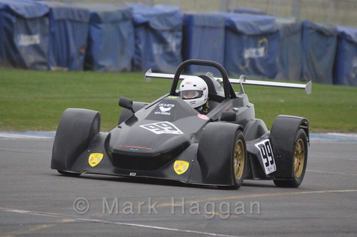 Kevin Suenson in the Excool OSS Championship at Donington Park, October 2015