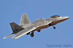 Hawaii based Raptor on final (JetImagesOnline) Tags: red hawaii fighter force martin flag aircraft air guard jet national raptor stealth f22 lockheed 154 afb nellis hickam superiority