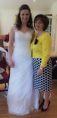 The beautiful bride and her mum (Just hit 5 million views) Tags: wedding northernireland inverness habost freechurchofscotlandcontinuing