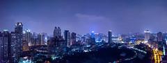 N20151024-M2 (archiwu945) Tags: panorama aerial 夜景 臺灣 aerialphotography 高雄市 光之塔 寬景 三民區 都市景觀 空中攝影
