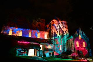 Chartres en Lumières 2015 - Collégiale Saint-André
