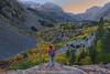 Selfie Over Lundy Canyon (hazarika) Tags: california fallcolors sierras selfie lundycanyon lundyfalls canon1635mmf28liiusm canon5dmarkiii fall2015 mausamhazarikaphotography