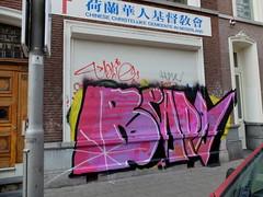 Graffiti (oerendhard1) Tags: graffiti vandalism throw ups tags streetart urban art rotterdam beaps oerendhard