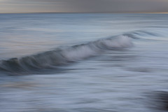 the loneliness you get by the sea is personal and alive (Padamski) Tags: tide impressionism icm northwales trefor