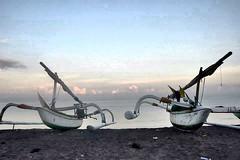 Good morning from Senggigi Beach, Lombok - Indonesia (widisoetardjo61) Tags: sea beach nature indonesia boats boat ship ships lombok pantai kapal