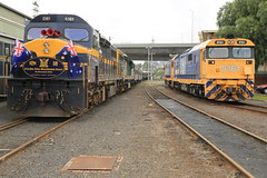 2015-11-21_0840-17-000 C501 and C510 on 9L81 and 8161 at Dynon (gunzel412) Tags: geotagged australia victoria aus northmelbourne westmelbourne geo:lat=3780514000 geo:lon=14493171000