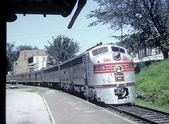 CB&Q 9938A at Prescott, Wisconsin (railfan 44) Tags: chicago burlington quincy