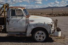 Old truck at Little Al-E-Inn (olbredes) Tags: old usa rachel nevada aliens ferie area51 gammel veteranbil lastebil sr375