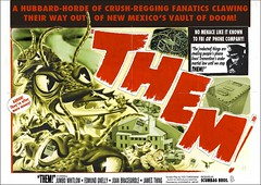 THEM! Movie Poster (marknpm1) Tags: new church movie poster mexico technology secret satire scientology them spoof spiritual fbi documents investigation vaults shoop redacted trementina of markpm frontgroup marksshoops marknpm