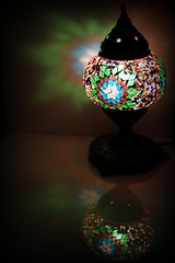 Multi Coloured Light (Crisp-13) Tags: blue light red white color colour green lamp yellow shade colored coloured