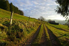 Vosges (denismartin) Tags: winter sky cloud france mountains tree green trek gr lorraine vosges bassesurlerupt hautesvosges denismartin vagney menufosse lapiquantepierre vosgesmountain