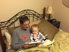 "Paul Reads with Daddy • <a style=""font-size:0.8em;"" href=""http://www.flickr.com/photos/109120354@N07/23850931146/"" target=""_blank"">View on Flickr</a>"