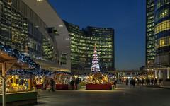 Christmas 2015 (Fil.ippo) Tags: christmas milan tree night cityscape nightscape milano christmastree natale filippo 2015 gaeaulenti d7000 filippobianchi