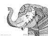 SUMATRAN ELEPHANT (ivysanchez14) Tags: art arte artwork artistonflickr elephant zentangle zendoodle ink inspiration endangered handmade