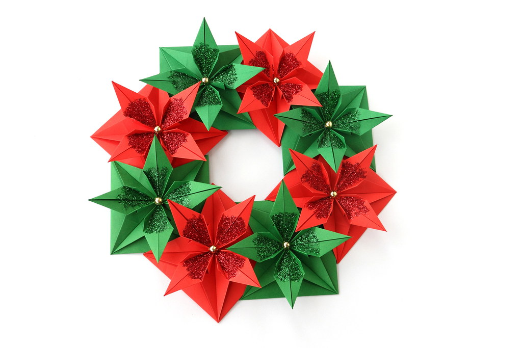 the worlds best photos of origami and wreath flickr