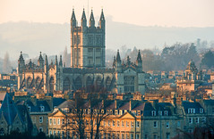 Bath Abbey (Steve Franklin Images) Tags: bath bathabbey somerset unitedkingdom architecture cityscapes
