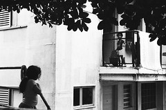 Neighbors (skamalas) Tags: kids play balcony brazilian favela rio de janeiro babylonia