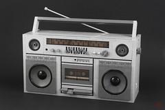 Ghetto Blaster (J.B.F) Tags: jimmyfortel lego moc boombox radio 80s brickbuild legoobject jbf