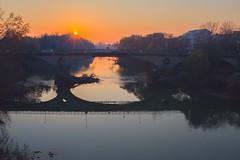 Tramonto sul ponte nuovo (santagatapaolo) Tags: sigma35art canon capua tramonto