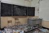 School's Out (Marian Smeets) Tags: schoolsout school urbex urbexexploring abandoned decay vervallen verlaten mariansmeets nikond750 2016 belgium belgie klaslokaal classroom schoolofdecay