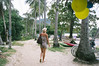 Life's a beach (Juha Helosuo) Tags: beach walking thailand asia island hopping ko koh mook muk travel traveller paradise searching fujifilm finepix x100 photography beautiful girl love blonde street road palm jungle adventure