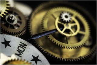 Macro Mondays - Contraption - Pinions, Gears, Cogs and Jewels (In Explore 31st Jan 2017)
