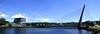 Pazo y puente (juantiagues) Tags: pazo cultura puente tirantes río lérez pontevedra juantiagues juanmejuto