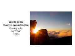 "Sunrise on Haleakala • <a style=""font-size:0.8em;"" href=""https://www.flickr.com/photos/124378531@N04/32363849941/"" target=""_blank"">View on Flickr</a>"