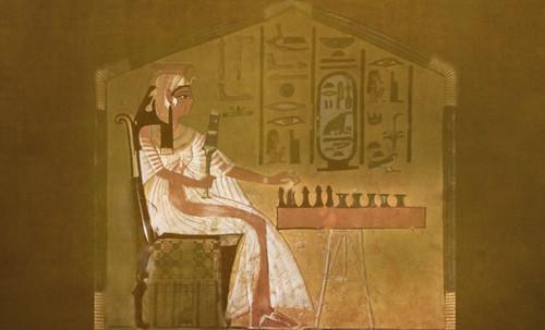 "Senet - Lujoso sistema de objetos lúdicos obsequio del dios Toht a la faraona Nefertari • <a style=""font-size:0.8em;"" href=""http://www.flickr.com/photos/30735181@N00/32369503132/"" target=""_blank"">View on Flickr</a>"