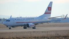TS-IOO (Breitling Jet Team) Tags: republic tunisia boeing 7377h3bbj tsioo euroairport bsl mlh basel flughafen