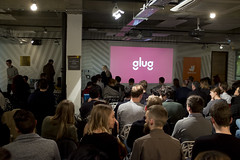 Glug London, The Trampery (new folder) Tags: london nightshot cityoflondon gluglondon thetrampery glug typography