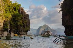 Stuck in Traffic (ddny2k) Tags: biglagoon big lagoon elnido el nido palawan philippines traffic