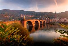 Heidelberg (Michele Naro) Tags: heidelberg badenwürttemberg deutschland altebrucke altstadt germany germania visitgermany nikond80 samyang14mmf28