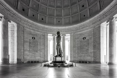 Wise words (dK.i photography) Tags: monument blackandwhite freedom statue marble wideangle availablelight sliderssunday jeffersonmemorial