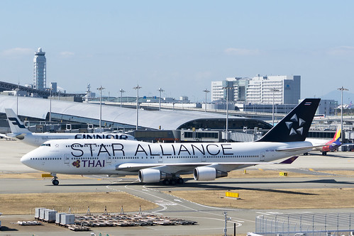 Thai Airways HS-TGW - STAR ALLIANCE livery