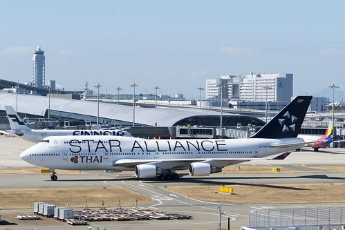 Thai Airways HS-TGW - STAR ALLIANCE livery