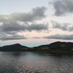 Dusk. Franklin, Tasmania.