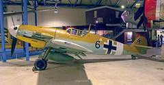 "Bf 109 G-2 W.Nr. 10639 ""Black 6"" (D160219) (iceland´er) Tags: messerchmidt bf 109 g2 hendon london england britain uk britishisles unitedkingdon black6 luftwaffe"
