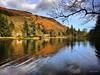 Loch Ard reflections. March 2017. (Jen_wilsonphotography) Tags: loch iphone lochardforest trees forest nature reflections walking spring scotland trossachs aberfoyle lochard