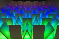 Rainbow of Aquarium Colors (aaronrhawkins) Tags: livingplanet led light glow color wall shine rainbow palette lighting display electric sandy utah aaronhawkins draper