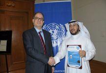 الأمم المتحدة تحتفي بالسفراء الجدد (oqlanews) Tags: صور اخبار القصيم الصقور عقلة
