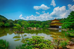 Kinkakuji (金閣寺, Golden Pavilion) In Summer (mcgarrett88) Tags: bestofflickr cercle perfect1 nationalgeographicareyougood infinitex into1 aplaceforgreatphotographers lomejordelafotografia photographyforrecreation coloremiomondo secretstreasures nosssasvidas freedomhawk1 lapassiondesbeauxpaysages onlygoodphotos frameitngcsereneartofimages worlddetailsgalaxyframeit vividzenextracolorfoof magiceyesimplysuperbablackrose cremevermeervangoghlapetite