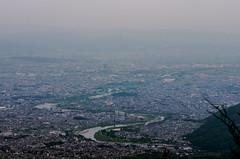 The view of Katsura River from Mt. Atago (nack74_sg) Tags: kyoto