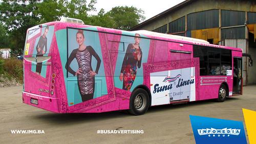Info Media Group - Sana Linea, BUS Outdoor Advertising, Banja Luka 08-2015 (6)