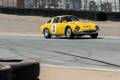 Alfa Romeo TZ1 (livio 1977) Tags: california cars vintage track racing historic alfa romeo laguna racers seca monterrey challenge rolex racer 2015 tz1 nikond200digitalcamera