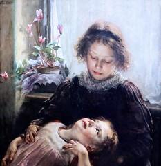 IMG_8763A Alois Erdtelt. 1851-1911. Munich. Les Orphelins. The Orphans.  vers 1900.   Hannover. Landesmuseum.